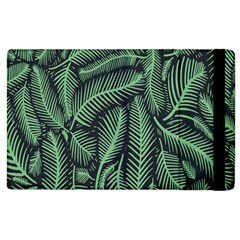 Coconut Leaves Summer Green Apple Ipad 2 Flip Case by Mariart
