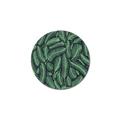 Coconut Leaves Summer Green Golf Ball Marker (4 Pack) by Mariart