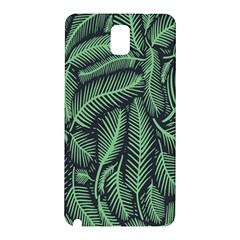 Coconut Leaves Summer Green Samsung Galaxy Note 3 N9005 Hardshell Back Case by Mariart