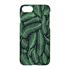 Coconut Leaves Summer Green Apple Iphone 7 Hardshell Case by Mariart