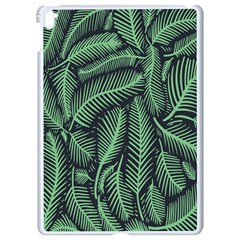 Coconut Leaves Summer Green Apple Ipad Pro 9 7   White Seamless Case by Mariart