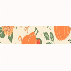 Happy Thanksgiving Chicken Bird Flower Floral Pumpkin Sunflower Large Bar Mats by Mariart