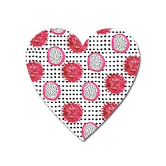 Fruit Patterns Bouffants Broken Hearts Dragon Polka Dots Red Black Heart Magnet