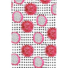 Fruit Patterns Bouffants Broken Hearts Dragon Polka Dots Red Black 5 5  X 8 5  Notebooks by Mariart