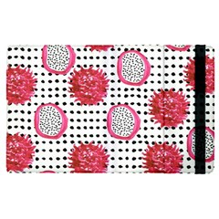 Fruit Patterns Bouffants Broken Hearts Dragon Polka Dots Red Black Apple Ipad Pro 9 7   Flip Case by Mariart