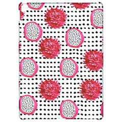 Fruit Patterns Bouffants Broken Hearts Dragon Polka Dots Red Black Apple Ipad Pro 12 9   Hardshell Case by Mariart