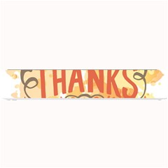 Happy Thanksgiving Sign Small Bar Mats by Mariart