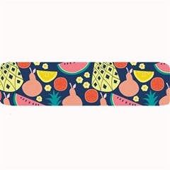 Fruit Pineapple Watermelon Orange Tomato Fruits Large Bar Mats by Mariart
