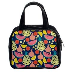 Fruit Pineapple Watermelon Orange Tomato Fruits Classic Handbags (2 Sides) by Mariart