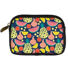 Fruit Pineapple Watermelon Orange Tomato Fruits Digital Camera Cases by Mariart