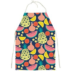 Fruit Pineapple Watermelon Orange Tomato Fruits Full Print Aprons by Mariart