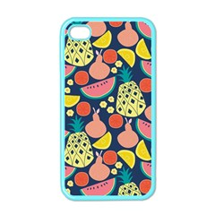 Fruit Pineapple Watermelon Orange Tomato Fruits Apple Iphone 4 Case (color)
