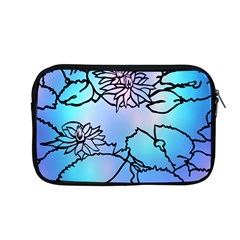 Lotus Flower Wall Purple Blue Apple Macbook Pro 13  Zipper Case by Mariart