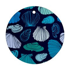 Mega Menu Seashells Ornament (round)