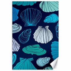 Mega Menu Seashells Canvas 20  X 30   by Mariart