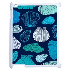 Mega Menu Seashells Apple Ipad 2 Case (white) by Mariart