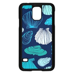 Mega Menu Seashells Samsung Galaxy S5 Case (black) by Mariart