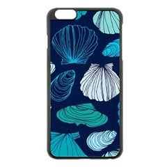 Mega Menu Seashells Apple Iphone 6 Plus/6s Plus Black Enamel Case by Mariart
