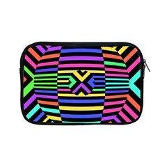 Optical Illusion Line Wave Chevron Rainbow Colorfull Apple Ipad Mini Zipper Cases by Mariart