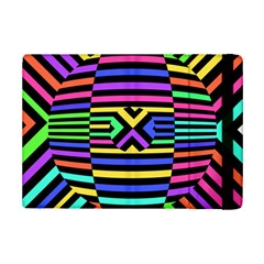 Optical Illusion Line Wave Chevron Rainbow Colorfull Ipad Mini 2 Flip Cases by Mariart
