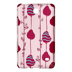 Original Tree Bird Leaf Flower Floral Pink Wave Chevron Blue Polka Dots Samsung Galaxy Tab 4 (8 ) Hardshell Case  by Mariart