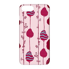 Original Tree Bird Leaf Flower Floral Pink Wave Chevron Blue Polka Dots Apple Iphone 7 Plus Hardshell Case by Mariart