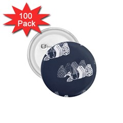 Japan Food Sashimi 1 75  Buttons (100 Pack)