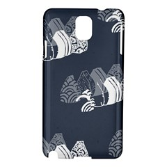 Japan Food Sashimi Samsung Galaxy Note 3 N9005 Hardshell Case by Mariart