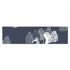 Japan Food Sashimi Satin Scarf (oblong) by Mariart