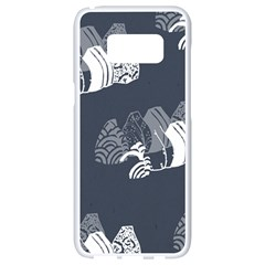 Japan Food Sashimi Samsung Galaxy S8 White Seamless Case by Mariart