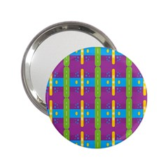 Stripes And Dots                           2 25  Handbag Mirror