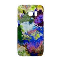 Color Mix Canvas                     Samsung Galaxy S6 Edge Hardshell Case by LalyLauraFLM