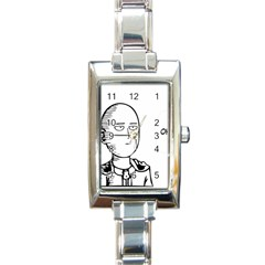 Saitama Rectangle Italian Charm Watch