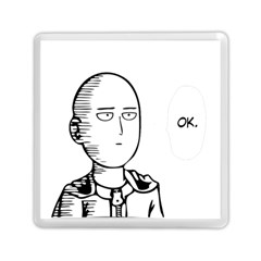 Saitama Memory Card Reader (square)  by quirogaart