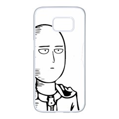 Saitama Samsung Galaxy S7 Edge White Seamless Case