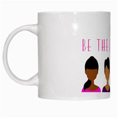 Black Girls Be The Best You White Mug by kenique