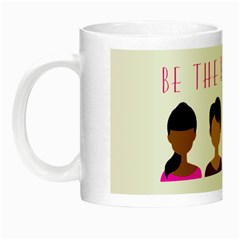 Black Girls Be The Best You Night Luminous Mug by kenique