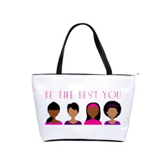 Black Girls Be The Best You Classic Shoulder Handbag by kenique