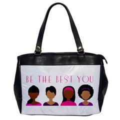 Black Girls Be The Best You Oversize Office Handbag by kenique