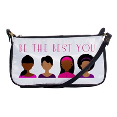 Black Girls Be The Best You Shoulder Clutch Bag by kenique