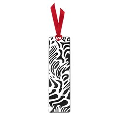Psychedelic Zebra Black White Line Small Book Marks by Mariart