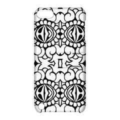Psychedelic Pattern Flower Crown Black Flower Apple Ipod Touch 5 Hardshell Case With Stand by Mariart
