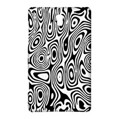 Psychedelic Zebra Black White Samsung Galaxy Tab S (8 4 ) Hardshell Case  by Mariart