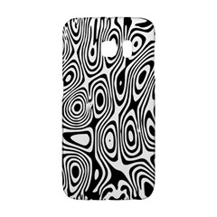 Psychedelic Zebra Black White Galaxy S6 Edge by Mariart