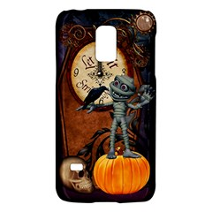 Funny Mummy With Skulls, Crow And Pumpkin Galaxy S5 Mini by FantasyWorld7