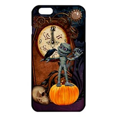 Funny Mummy With Skulls, Crow And Pumpkin Iphone 6 Plus/6s Plus Tpu Case by FantasyWorld7