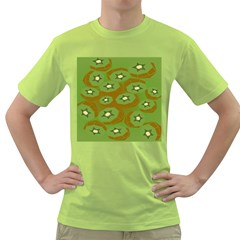 Relativity Pattern Moon Star Polka Dots Green Space Green T Shirt by Mariart