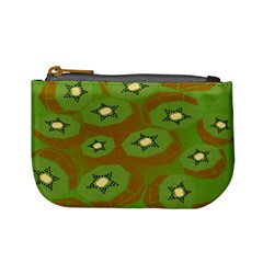 Relativity Pattern Moon Star Polka Dots Green Space Mini Coin Purses