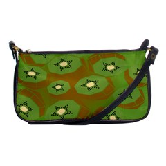 Relativity Pattern Moon Star Polka Dots Green Space Shoulder Clutch Bags by Mariart
