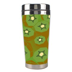 Relativity Pattern Moon Star Polka Dots Green Space Stainless Steel Travel Tumblers by Mariart
